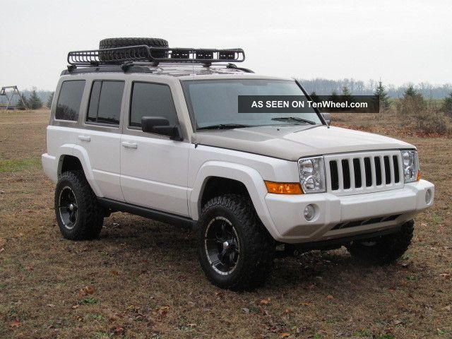 2006 Jeep Commander Custom Lifted