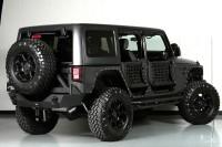 Custom 2013 Jeep Wrangler Unlimited Ferrari Leather Body Armor Li