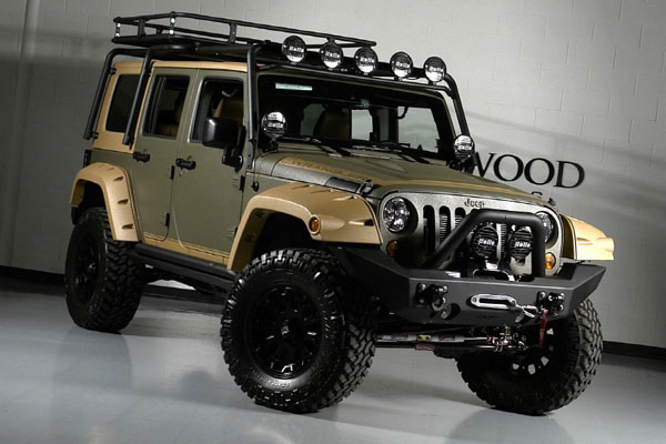 Custom Jeep Wrangler Unlimited by Starwood Motors  Dream Garage …