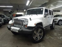 Custom White Jeep Wrangler Unlimited by Eastchester Customs