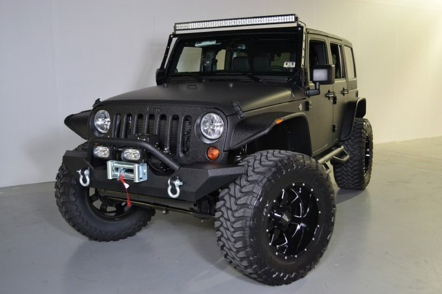 Myusedcarstore.com – 2013 Jeep Wrangler Unlimited Sport Custom …