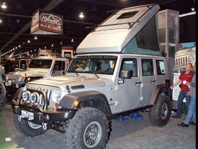 Custom Jeep Wrangler  got 4 x 4
