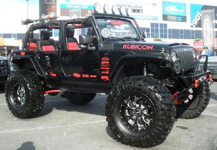 4 Door Custom Jeep Wrangler Rubicon  Jeep amp 4×4  Pinterest