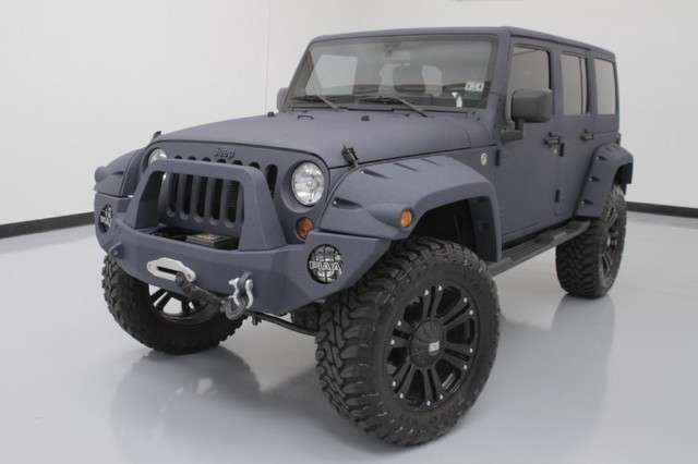 2013 Jeep Wrangler Unlimited Sahara 4WD  CUSTOM JEEP LIFTED …