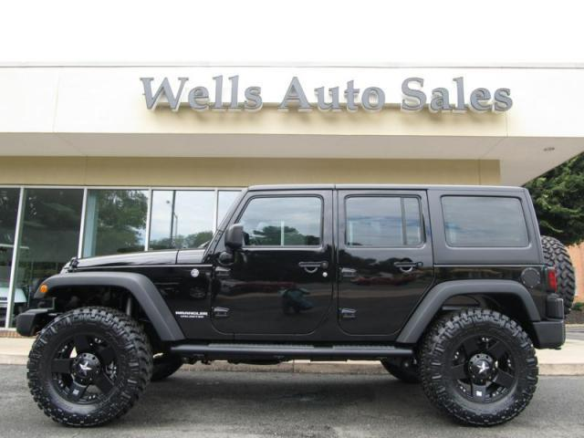 2013 jeep wrangler unlimited custom lifted 4x4 for sale in. Black Bedroom Furniture Sets. Home Design Ideas
