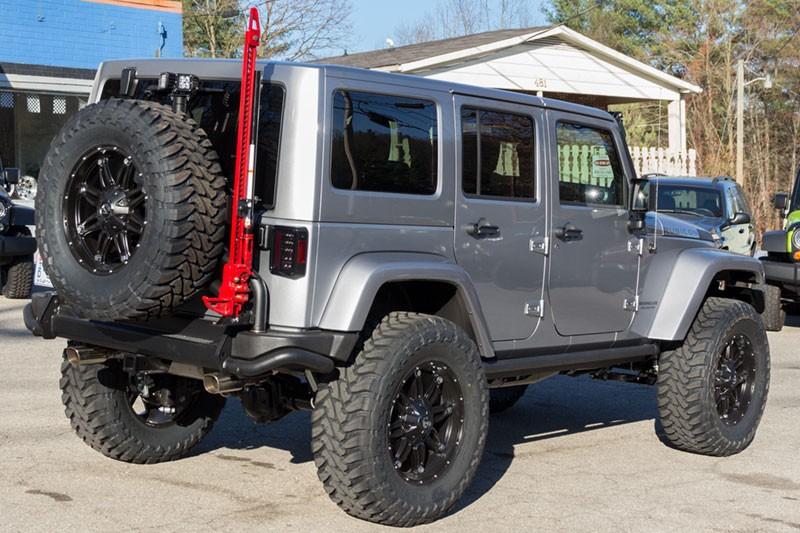 Recon 264234 Led Tail Lights Jeep Wrangler Jk