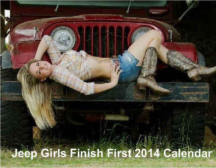 Jeep Girls Finish First