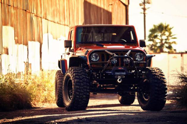 VWerks Red Jacket Jeep Wrangler  HiConsumption