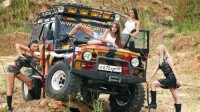 Super hot girls with off road jeep photo – bCarWallpapers