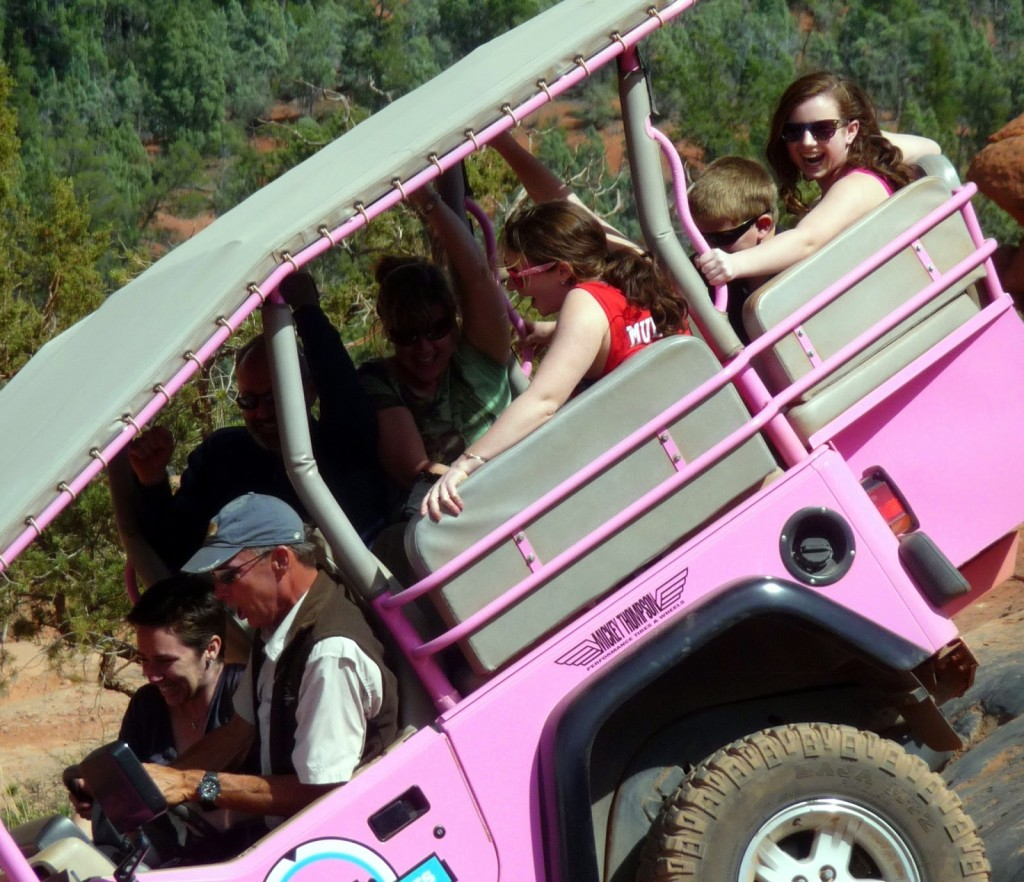 Teapots and Polka Dots Pink Jeeps and the Coconino National Forest