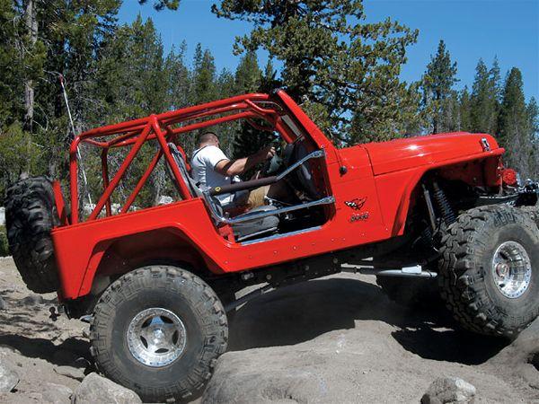Rock Crawl – Photo 01 – 1997 Jeep TJ – Myer's Fire