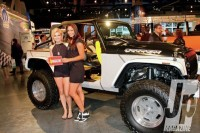 Custom Jeep Stitch – Photo 14 – Hot Jeeps Hot Women From SEMA 2013