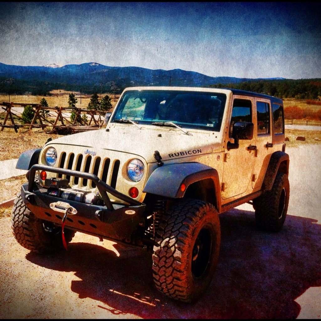 Jeep Girl Rock Dawg and Jeep Dude