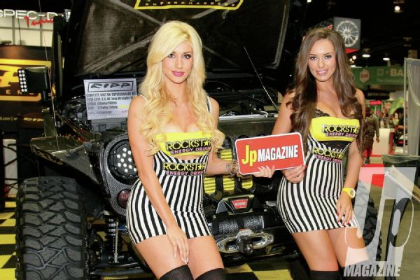 Hot Jeeps Hot Women From SEMA 2013 – Jp Magazine