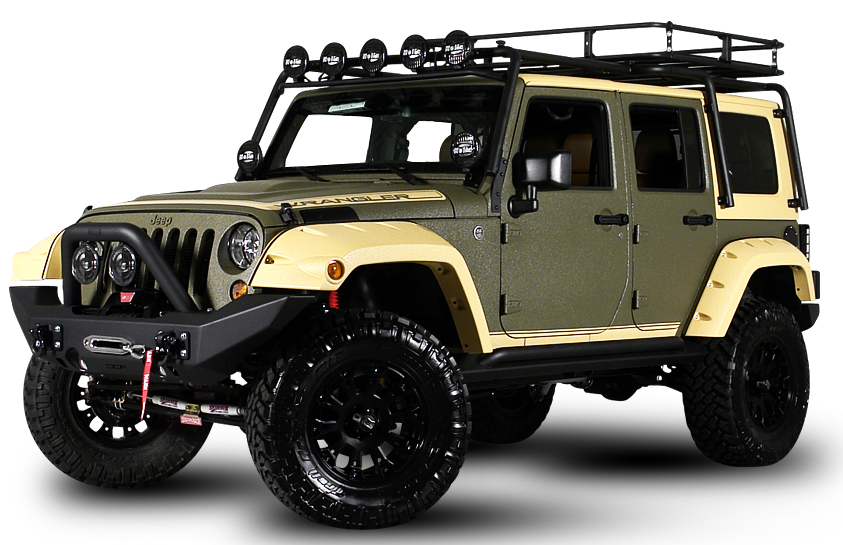 Starwood Custom Jeep Wranglers got 4 x 4  got 4 x 4