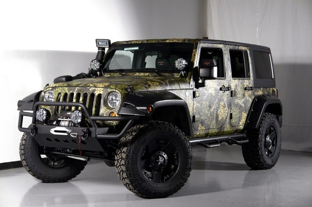 Jeep Wrangler Unlimited Rubicon Custom
