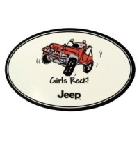 Amazon.com Jeep quotGirls Rockquot Decal Automotive