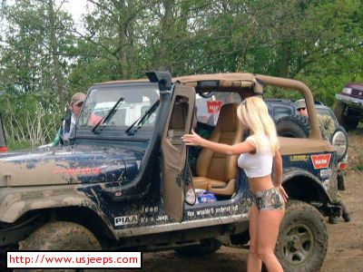 NWS Srt8 poster girl amp other frightening thingso  …  got jeep