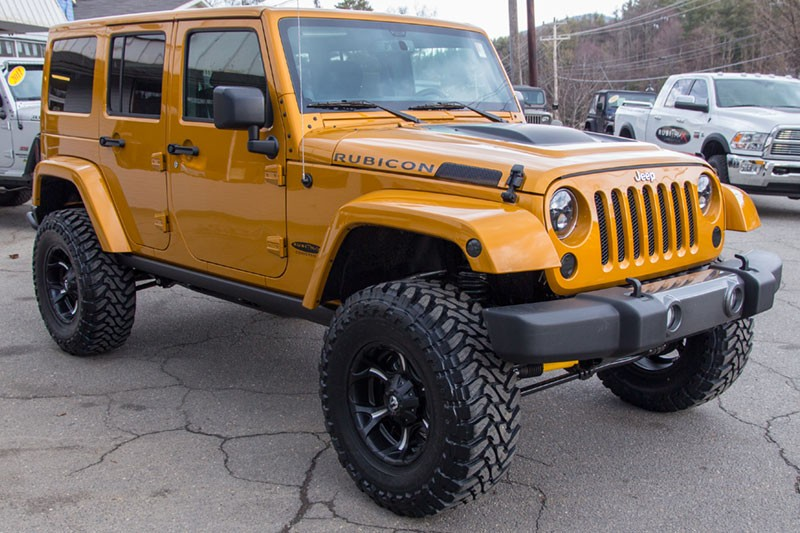 2014 Custom Jeep Wrangler Unlimited Rubicon Amp'd Edition For Sale