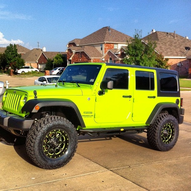 Jeep Wrangler Lifted on Pinterest  got 4 x 4