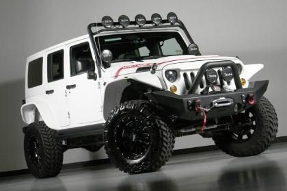 Custom 2013 Jeep Wrangler Unlimited Kevlar Coated Lifted Jeep R …