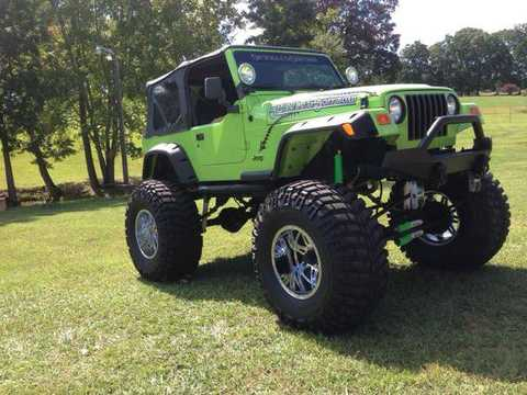 Custom Jeep Wrangler Mitula Cars  got 4 x 4