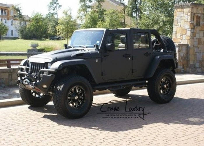 customjeepwranglerunlimited got 4 x 4  got jeep