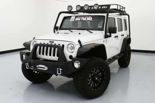 2013 Jeep Wrangler Unlimited Sahara 4WD  LIFTED CUSTOM JEEP …