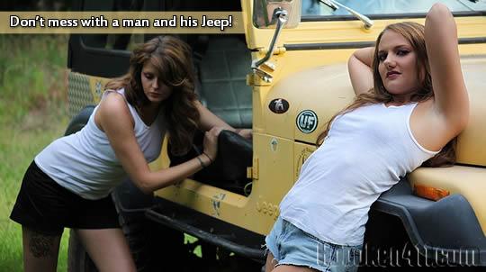 Best response ever on a message forum  Jeep boyfriend  got 4 x 4