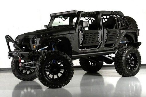 Custom Jeep Wrangler Unlimited for Sale 2013 Billet  got 4 x 4