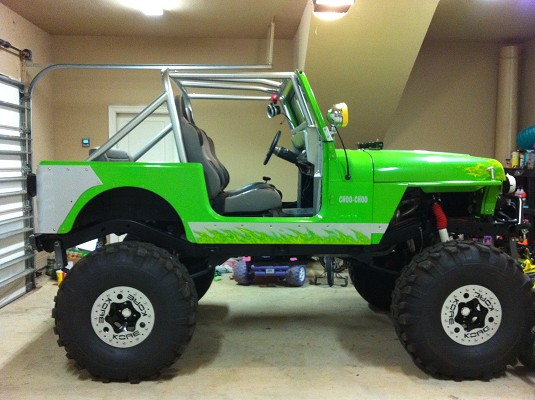 vehicles for sale  Custom Jeep Paint Yakez  got 4 x 4