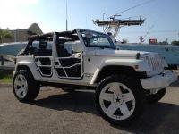 Buy used 2007 4 door Jeep Wrangler custom24rimsliftedsound …