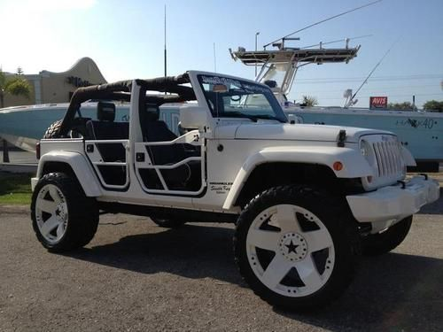 buy used 2007 4 door jeep wrangler custom24rimsliftedsound. Black Bedroom Furniture Sets. Home Design Ideas
