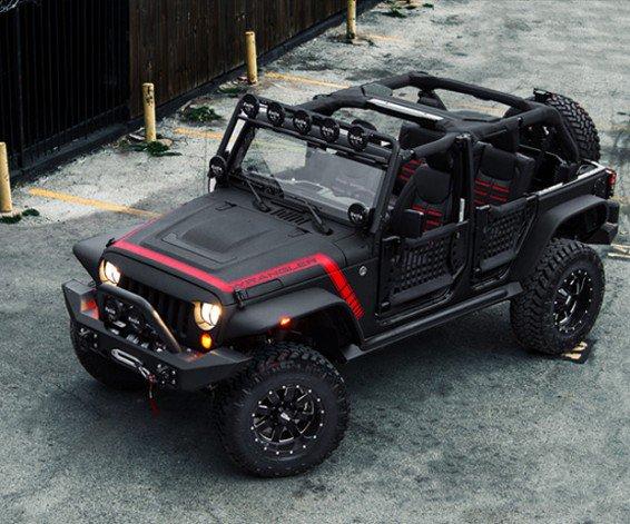 Starwood Motors El Diablo Custom Jeep Wrangler  Adorepics