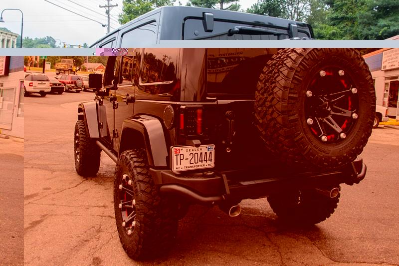 2014 Jeep Wrangler Rubicon Unlimited Black