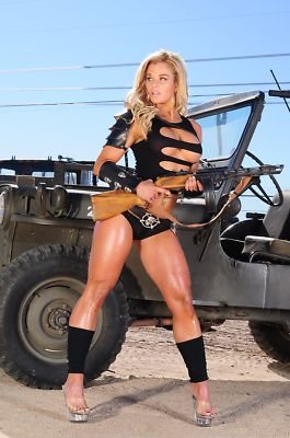 pataconstore PHOTO Hot Jeep Army Woman Combat Bikini Girl Soldier …