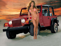 Jeep Girls Photos and Video show  Autos Fans