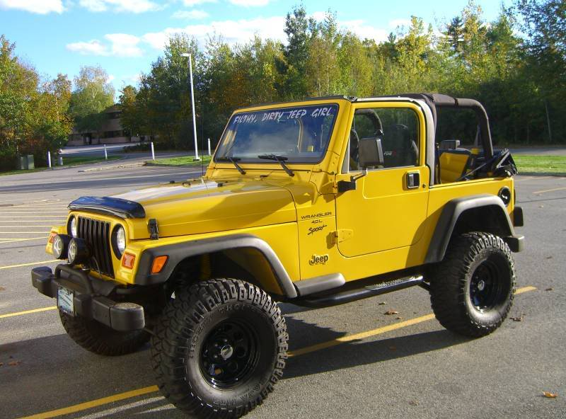 Jeep Girls Rock Color Yellow Yellow Jeep Club Member 333 Color …