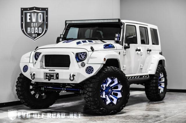 2016 Jeep Wrangler Sport Unlimited Nav Bluetooth Custom Blue …