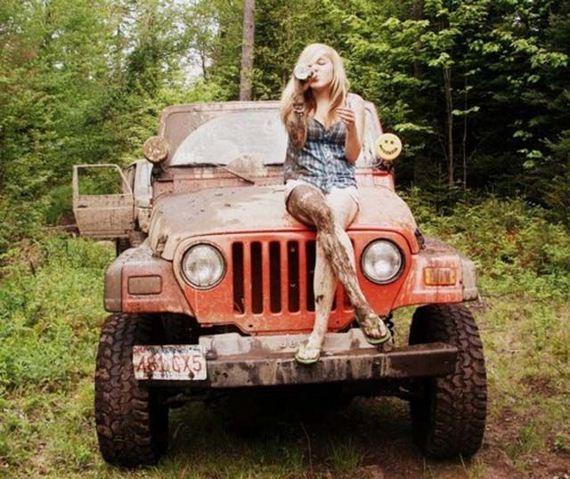 Hot girls  Jeeps – Barnorama