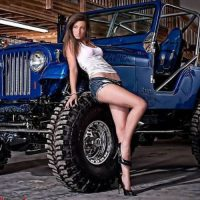 Dirty Jeep girls are the best gals 121 Photos  Pin Up Girls …