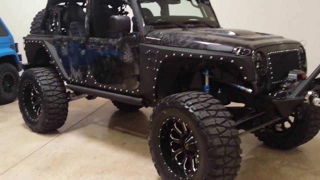 100000 Starwood Motors Custom Jeep Wrangler JK Unlimited with …
