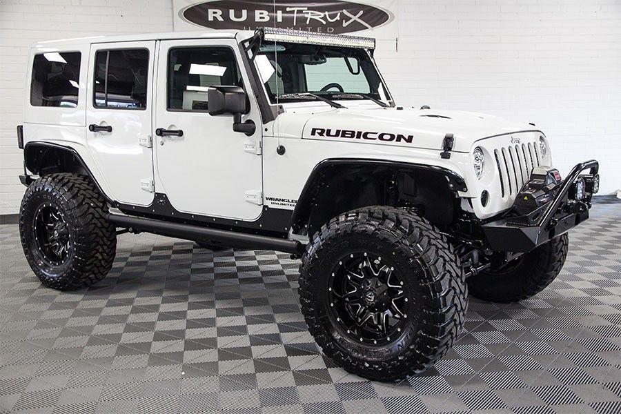 Custom Jeep Wranglers For Sale  RubiTrux Jeep Conversions  AEV …