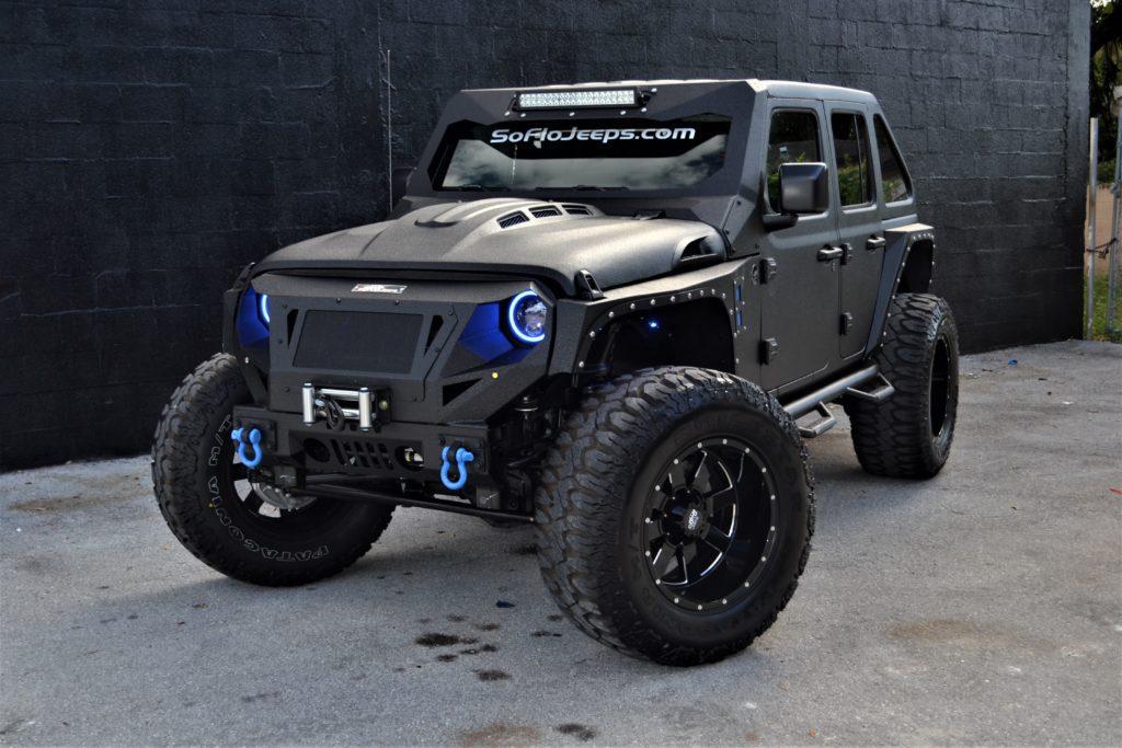 Custom Jeep Wrangler  Custom Jeeps  South Florida Jeeps