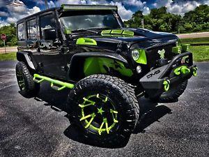 2018 Jeep Wrangler JK Unlimited RUBICON CUSTOM LIFTED 37 NITTOs …