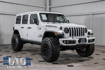 Used Jeep Wrangler Unlimited at DTO Customs Serving Gainesville VA