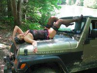 Hot Jeep Girls  jeep public fun  Jeep Jeep 4×4 Jeep truck