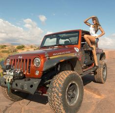 Girls with Jeeps