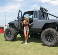 Hot girls Jeeps  Barnorama