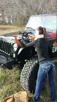 GunGirls on  Custom Guns  Jeep Girl guns Guns